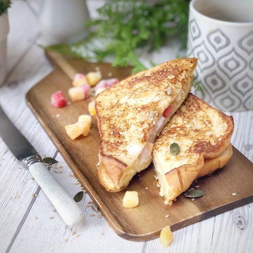 Fruity Breakfast Sandwich