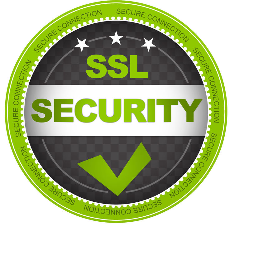 SSL security certificate logo