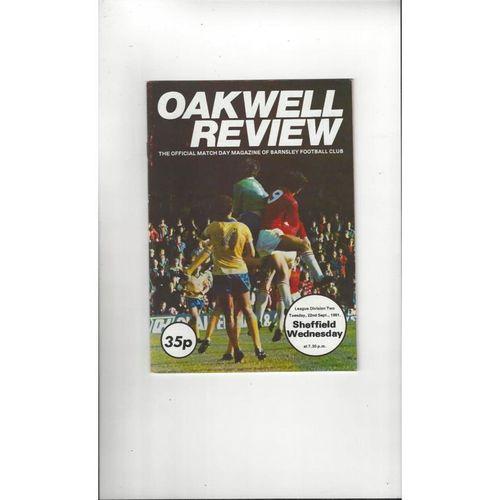 Barnsley Home Football Programmes