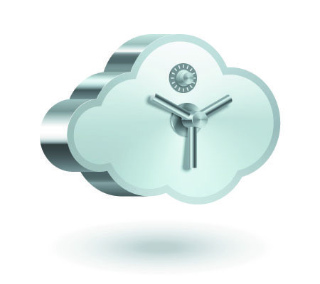 back up important business data onto the cloud