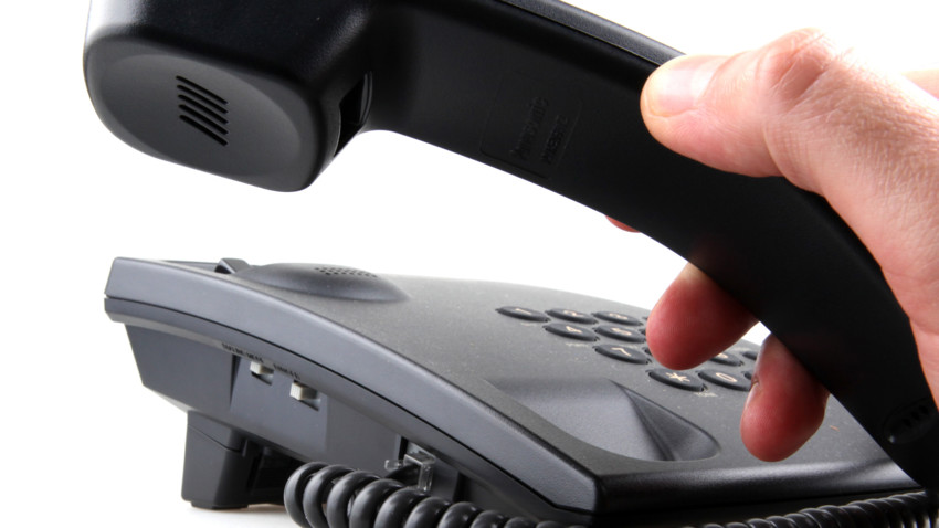 traditional landline phone for businesses