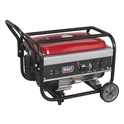 Generator 3100W 230V 7hp - Sealey - G3101