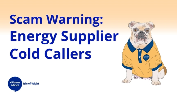 Energy Supplier Cold Call Warning