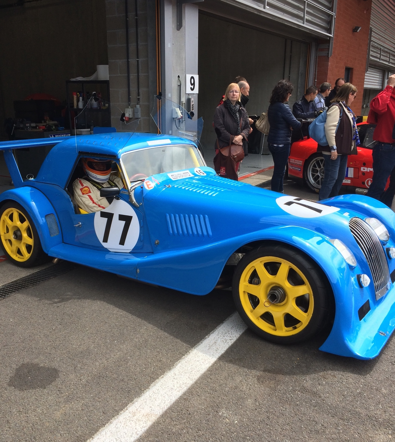 Ex Factory Morgan GT2 Wins class at Spa!