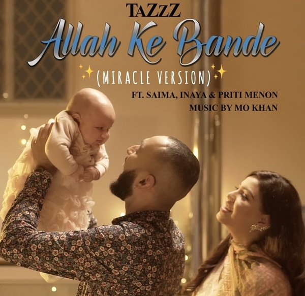 This British Pakistani artist dedicated a song to his wife and baby and it is so cute