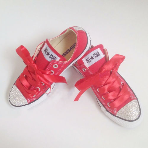Sparkly Bling Diamante Converse Trainers. We bling our converse ... 4a7967edfd