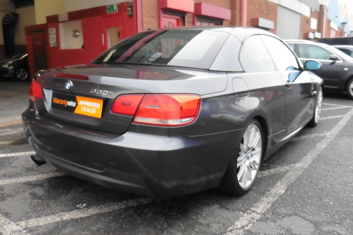 BMW 330i M Sport 2dr Convertible - Only 2 Owners From New! Full Service History!