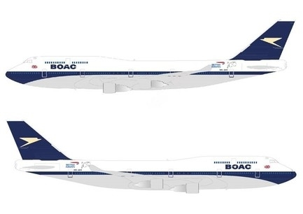 As part of its 100-year birthday, British Airways will be painting a Boeing 747 in the much-admired design of its predecessor British Overseas Airways Corporation