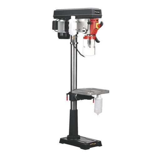 Pillar Drill Floor 16-Speed 1635mm Height 230V - Sealey - PDM240F