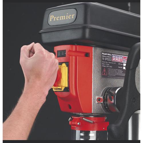 Pillar Drill Floor 12-Speed 1710mm Height 230V - Sealey - PDM260F