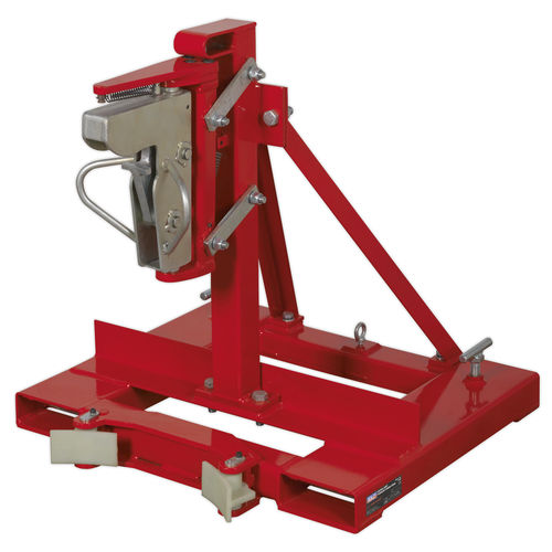 Gator Grip Forklift Drum Grab 400kg Capacity - Sealey - DG06