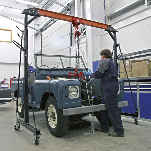 Portable Gantry Crane Adjustable 1tonne - Sealey - SG1000