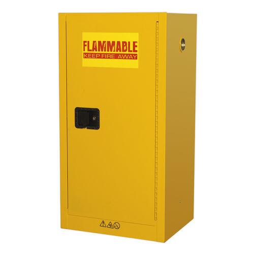 Flammables Storage Cabinet 585 x 460 x 1120mm - Sealey - FSC08