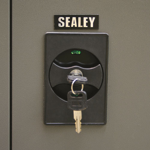 Floor Cabinet 4 Shelf 2 Door - Sealey - SC01