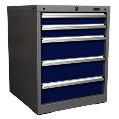 Cabinet Industrial 5 Drawer - Sealey - API5655A