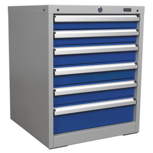 Cabinet Industrial 6 Drawer - Sealey - API5656