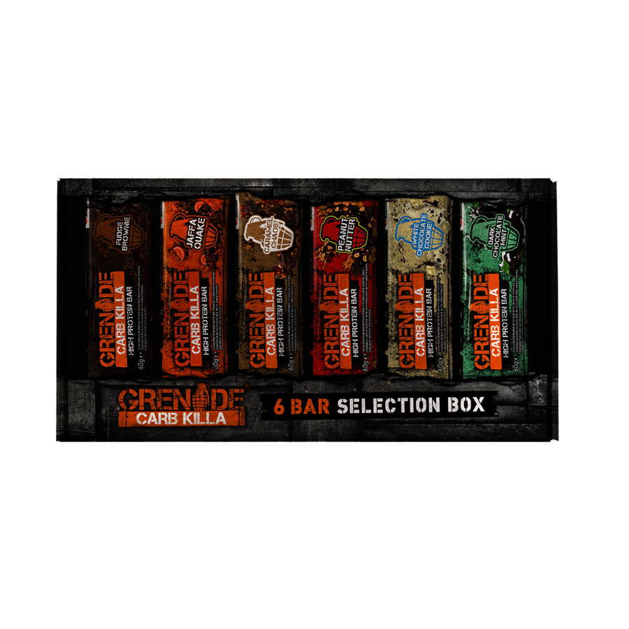 Grenade Carb Killa bar Variety pack of 6