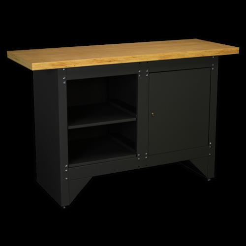 Workbench with Cupboard Heavy-Duty - Sealey - AP2010