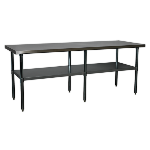 Stainless Steel Workbench 2.1mtr - Sealey - AP2184SS