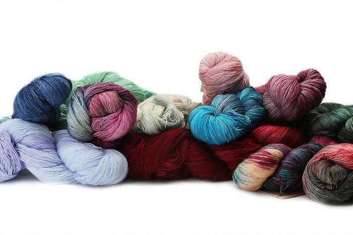 MA7165 Shantung Manos Del Uruguay MARINA Lace Weight Yarn
