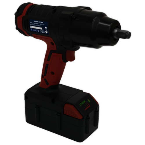 """Cordless Impact Wrench 26V Lithium-ion 1/2""""Sq Drive 680Nm - Sealey - CP2612"""