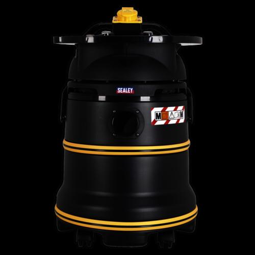 Vacuum Cleaner Industrial Wet/Dry 35ltr 1200W/110V - Sealey - PC35110V