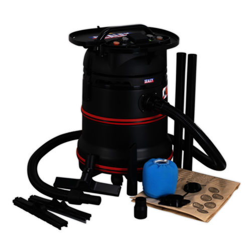 Vacuum Cleaner Industrial Wet/Dry 35ltr - Sealey - PC35230V