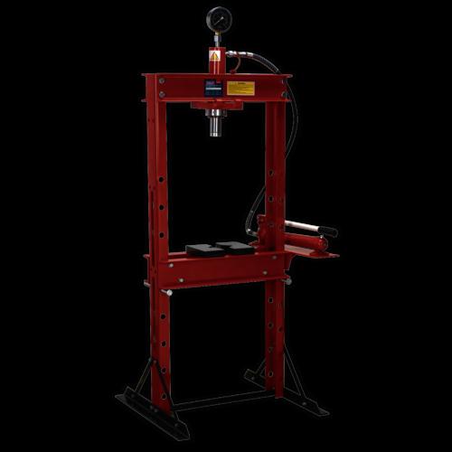 Hydraulic Press 20tonne Floor Type - Sealey - YK20F