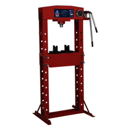Hydraulic Press 30tonne Floor Type - Sealey - YK30F