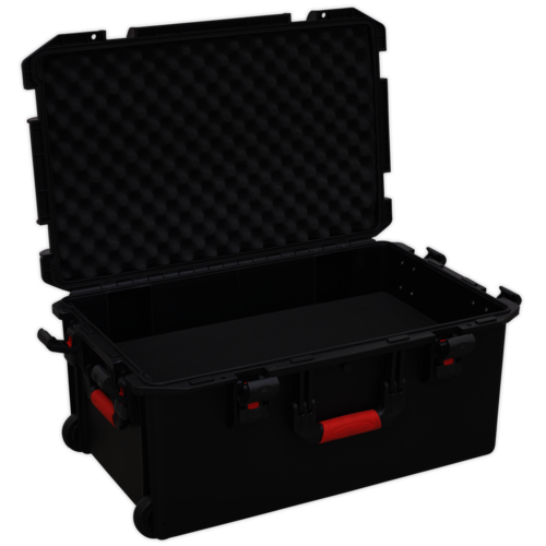 Professional Water Resistant Storage Case with Extendable Handle - 710mm - AP627