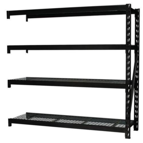 Heavy-Duty Racking with 4 Mesh Shelves 640kg Capacity Per Level - AP6572E