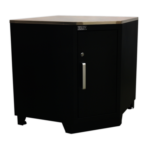 Modular Corner Floor Cabinet 930mm Heavy-Duty - Sealey - APMS15