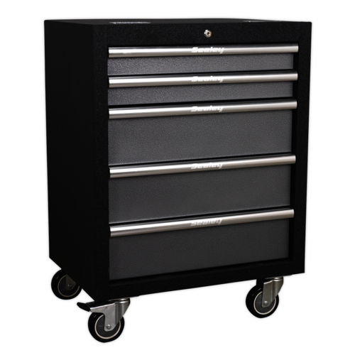 Modular 5 Drawer Mobile Cabinet 650mm - Sealey - APMS58