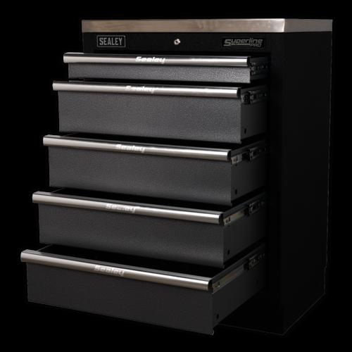Modular 5 Drawer Cabinet 680mm - Sealey - APMS59