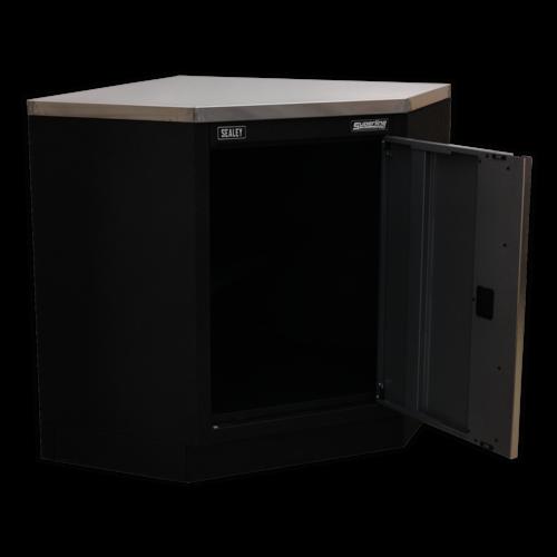 Modular Corner Floor Cabinet 865mm - Sealey - APMS60