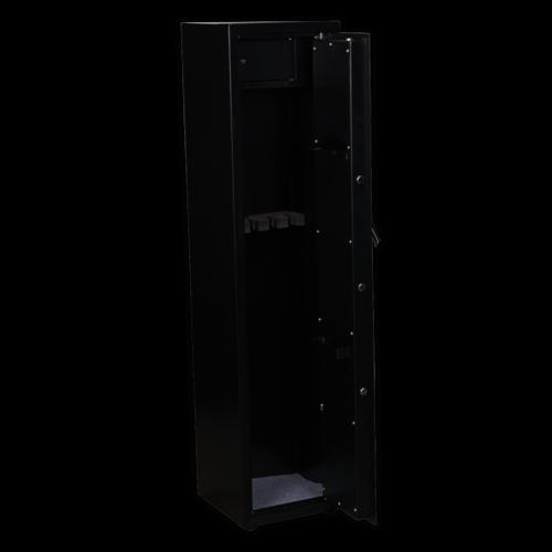 Gun Cabinet with Ammo Box & Key Lock 5 Gun Capacity - Sealey - SKGS5