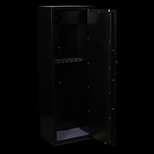 Gun Cabinet with Ammo Box & Key Lock 8 Gun Capacity - Sealey - SKGS8