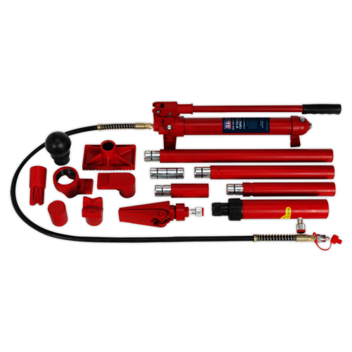 Hydraulic Body Repair Kit 10tonne Snap Type - Sealey - RE97/10