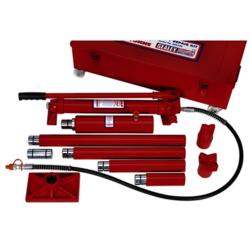 Hydraulic Body Repair Kit 20tonne Snap Type - Sealey - RE9720