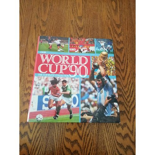 1990 World Cup Orbis Complete Sticker Album