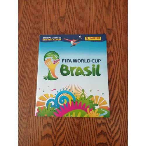 2014 Brazil World Cup Panini sticker Album - Complete