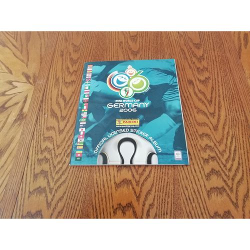 2006 Germany World Cup Panini sticker Album - Complete