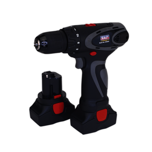 Cordless Drill/Driver 10mm 14.4V 2Ah Lithium-ion 10mm 2-Speed Motor - CP6004