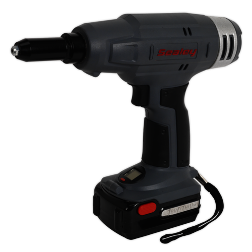 Cordless Riveter 18V 1.5Ah Lithium-ion 1hr Charger - Sealey - CP313