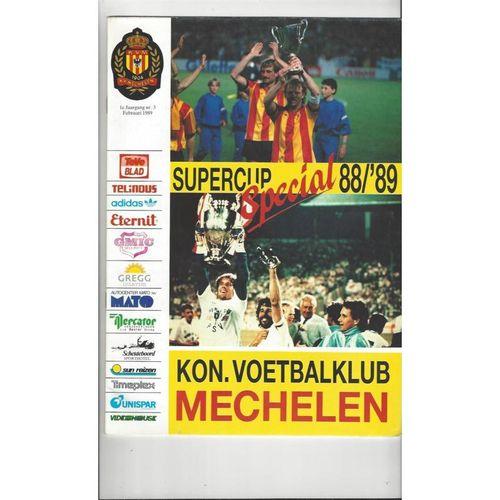 European Super Cup Football Programmes