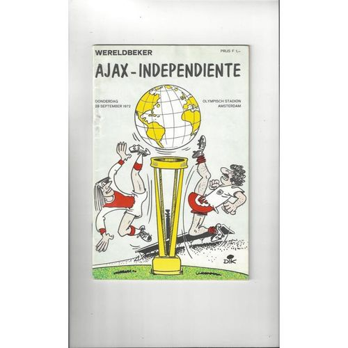 European World Club Championship Football Programmes