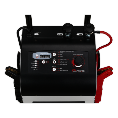 Electronic Charger Starter 45/300A 12/24V - Sealey - ECS300