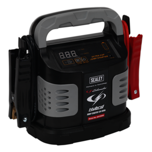Hybrid Ultra Capacitor Jump Starter 12V 900A - Sealey - SHY900S