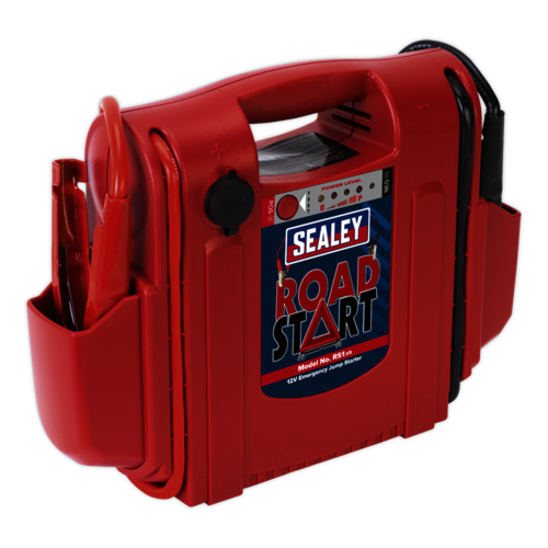 RoadStart® Emergency Jump Starter 12V 1000 Peak Amps - Sealey - RS1