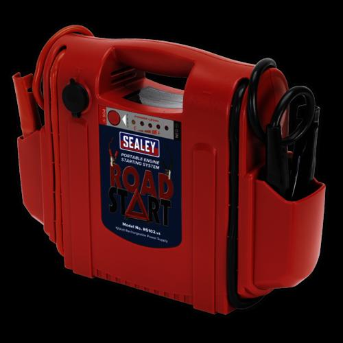 RoadStart® Emergency Jump Starter 12V 1600 Peak Amps - Sealey - RS102